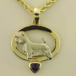West Highland White Terrier Pendant - WEST123