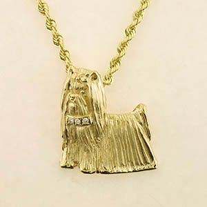 Yorkshire Terrier Pendant - YORK140