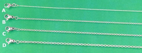 Platinum Chains - Cable Chains