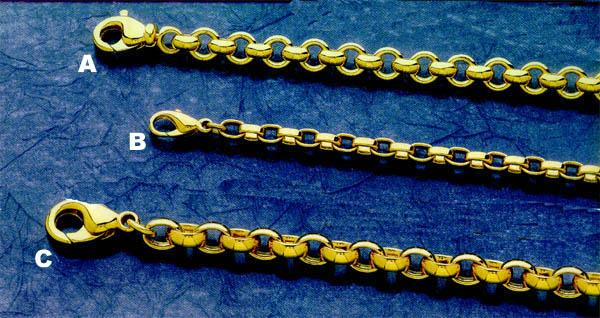 Gold Chains - Link