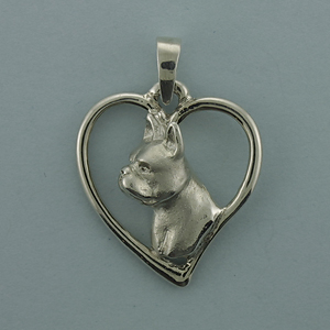 Boston Terrier Pendant - SBOST506