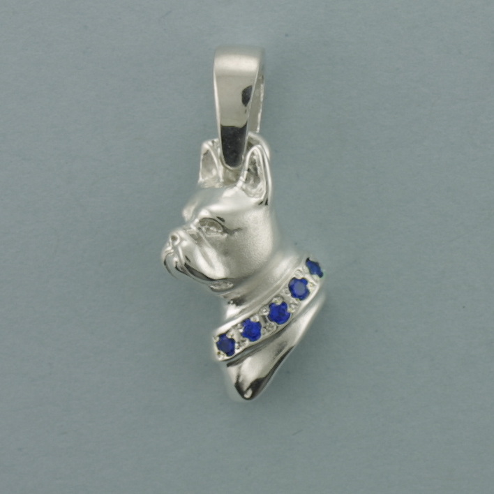 Boston Terrier Pendant - SBOST507