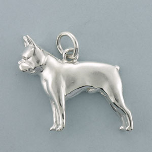 Boston Terrier Pendant - SBOST500