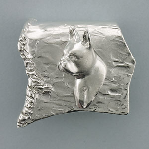 Boston Terrier Pendant - SBOST504