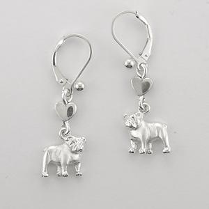 Bull Dog Earrings