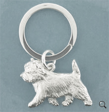 Cairn Terrier Key Ring - SCARN102