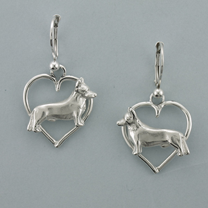 Cardigan Welsh Corgi Earrings - SCAWC501