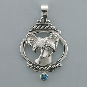 Chinese Crested Pendant - SCHCR106