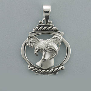 Chinese Crested Pendant - SCHCR107