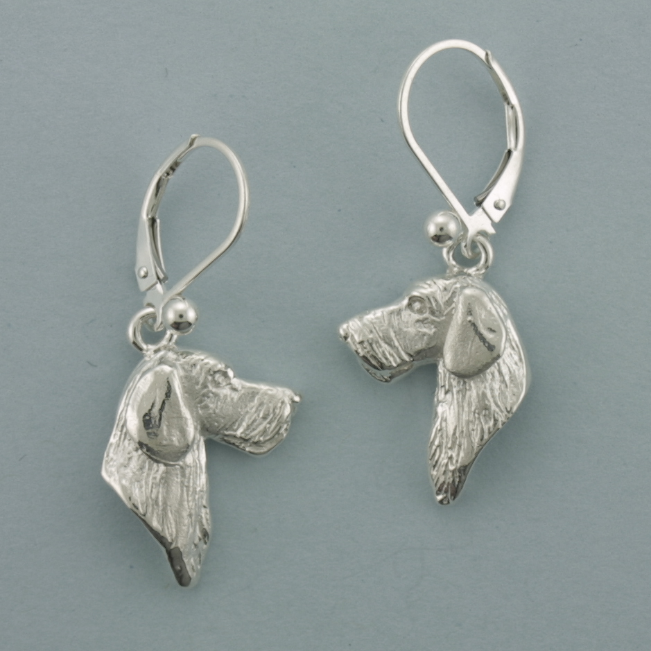 Dachshund, Wire-Haired Earrings - SDCHW503