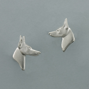 Doberman Pinscher Earrings - SDOBE511