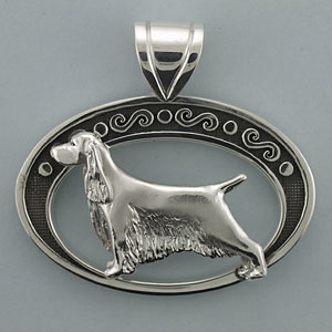 English Springer Spaniel Pendant - SESPR501