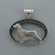 English Springer Pendant - SESPR506