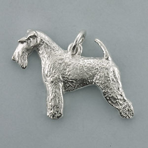 Wire Fox Terrier Pendant - SFOXW101