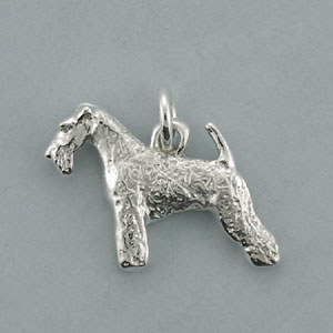 Wire Fox Terrier Pendant - SFOXW102