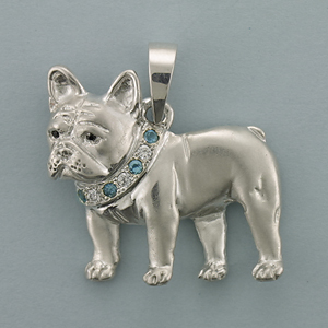 French Bulldog Pendant - SFREN506
