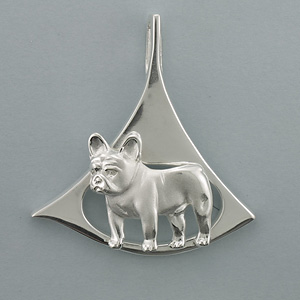 French Bulldog Pendant - SFREN509