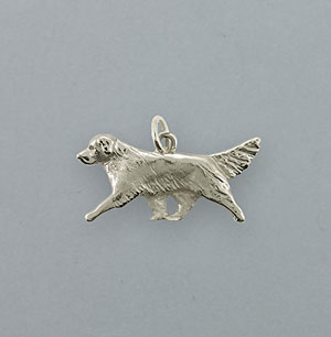 Golden Retriever Pendant - SGOLD173