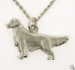 Golden Retriever Pendant - SGOLD101