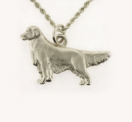 Golden Retriever Pendant - SGOLD102