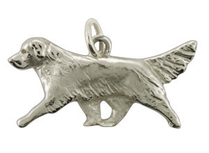Golden Retriever Pendant - SGOLD501