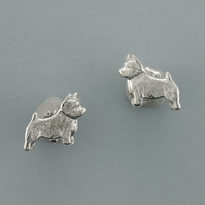 Norwich Terrier Earrings - SNORW504