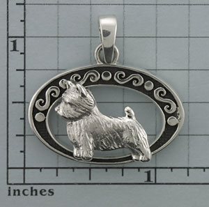 Norwich Terrier Pendant - SNORW501 - Click Image to Close