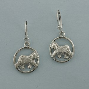 Old English Sheepdog Earrings - SOES502