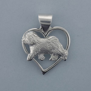 Old English Sheepdog Pendant - SOES600