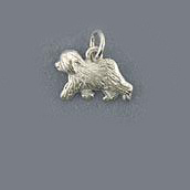 Old English Sheepdog Pendant - SOES126