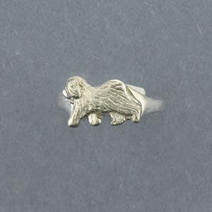 Old English Sheepdog Ring - SOES127
