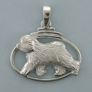 Old English Sheepdog Pendant - SOES500