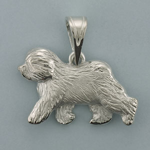 Old English Sheepdog Pendant - SOES501
