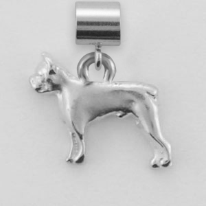 Boston Terrier Dog Charm - SPAND101