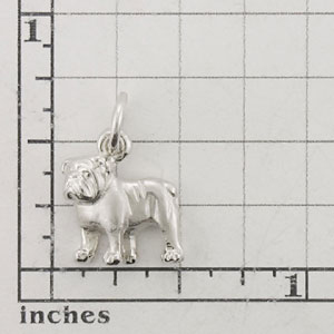 Bulldog Dog Charm - SPAND102