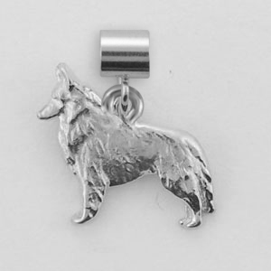 Belgian Sheepdog Dog Charm - SPAND103