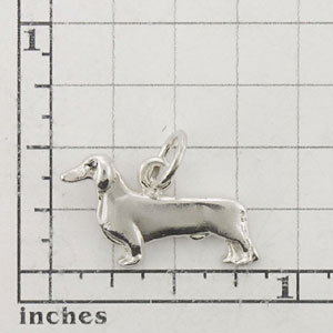 Dachshund, Smooth Dog Charm - SPAND108