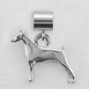 Doberman Pinscher Dog Charm - SPAND109