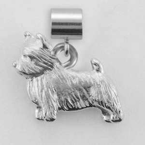 Norwich Terrier Dog Charm - SPAND115