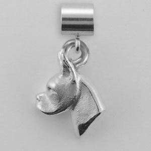Boxer Dog Charm - SPAND126