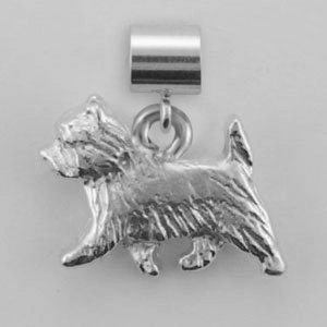 Cairn Terrier Dog Charm - SPAND135