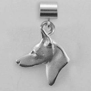 Doberman Pinscher Dog Charm - SPAND138