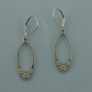 Silver Paws Earrings - SPAW521