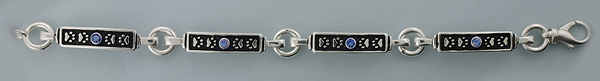 Sterling Silver Paws Bracelet - SPAW525