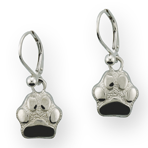 Silver Paws Earrings - SPAW109