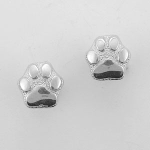 Silver Paws Earrings - SPAW506