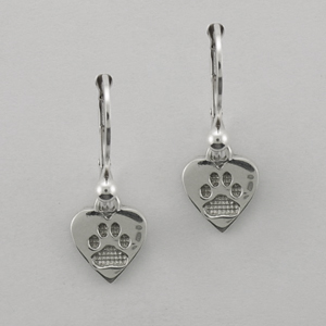 Silver Paws Earrings - SPAW514