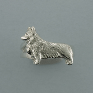 Pembroke Welsh Corgi Ring - SPEWC501