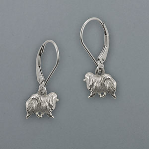Pomeranian Earrings - SPOM105