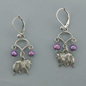 Pomeranian Earrings - SPOM502